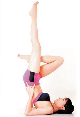 保鲜膜也能瘦腿