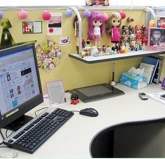 整理办公桌
