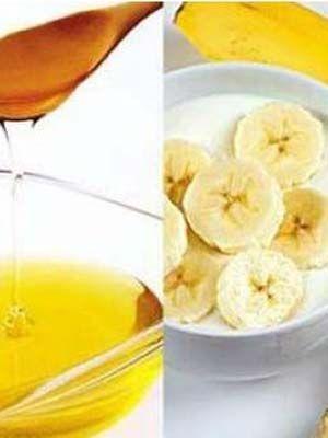 吃香蕉沾蜂蜜