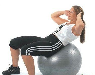 健身运动——健身球
