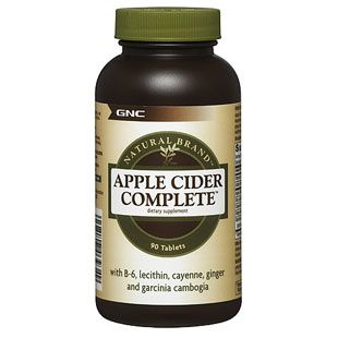 美国GNC苹果醋酸纤体片