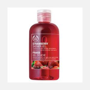 美体小铺THE BODY SHOP草莓嫩白沐浴胶
